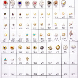 Art Nail Alloy Easy DIY Jewelry Rhinestone Decoration Products (D68)