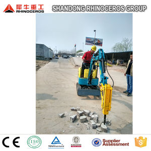 0.8ton 1.2ton Mini Excavator Prices Project Agriculture Backhoe Excavator pictures & photos