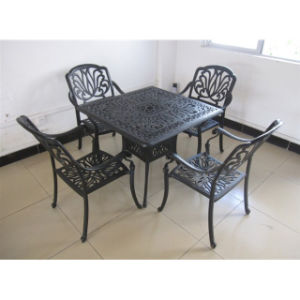 Aluminum Garden Outdoor Leisure Dining Modern Table Chair for Patio
