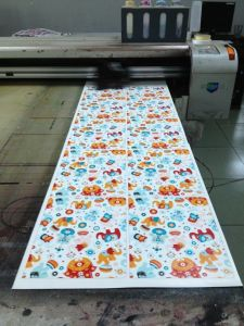 File Marble Glass Printer Glass Digital Printing Machine (Colorful-6015)