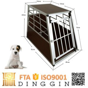 Puppies Memory Garden Aluminum Dog Crate pictures & photos
