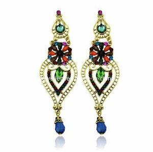 Trendy Bohemia Style Resin Stone Earring (XER13098) pictures & photos