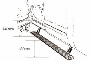 for Infiniti Qx60 Electric Running Board/ Side Step/Pedal/Auto Parts/Auto Accessory pictures & photos
