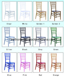 High Quality Stackable Resin Chiavary Chair for Wedding/Party/Event pictures & photos