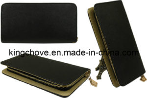 + Cross PU Long Shape Fashion Wallet (KCW30) pictures & photos