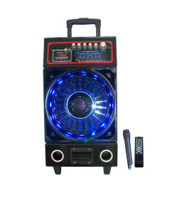 Bluetooth Battery Speaker with Colorful Light 6300th pictures & photos