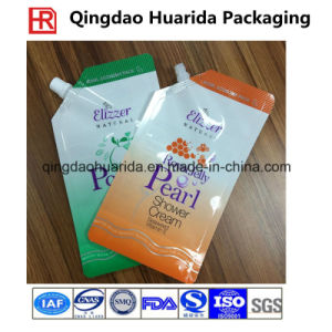 Customized Liquid Soap Spout Pouch, Stand up Plastic Bag pictures & photos