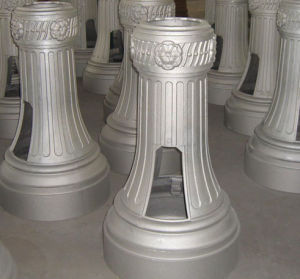 Street Light Base Parts by Sand Casting