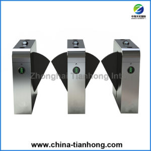Half Height Automatic Flap Barrier Gate Turnstiles pictures & photos