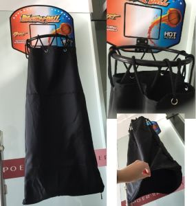 Basketball Laundry Bag Hamper Kids Play Toy Dirty Clothing Organizer