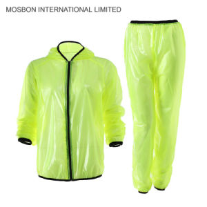 Cycling Bike Bicycle Cycle Top Wind Rain Coat Raincoat Waterproof Windproof Jersey Jackets pictures & photos