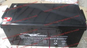 12V200ah VRLA Sealed Lead Acid Maintenance Free UPS Battery pictures & photos