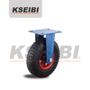 Hot Sales Kseibi Pneumatic Air Rigid Rubber Furniture Caster pictures & photos