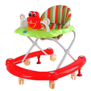 2016 New Model Lovely Foldable Plastic Baby Walker pictures & photos