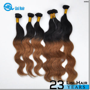 Cheap Wholesale 100% Human Unprocessed Brazilian Ombre Weave Hair