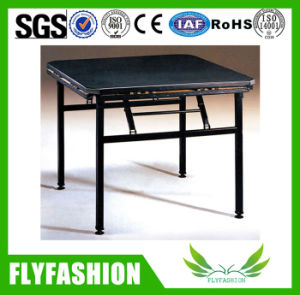 Folding Cheap Wooden Dining Table for Sale (HY-05) pictures & photos
