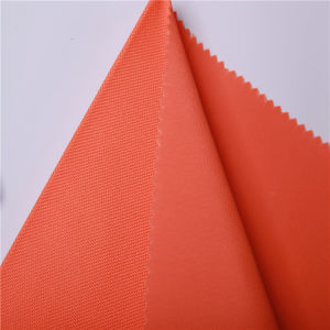 Flat PVC Coating 66t Eco-Friendly Polyester Oxford Fabric pictures & photos