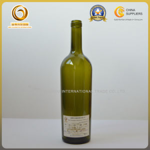 South Africa 5# Taper 750ml Cork Wine Bottle (522) pictures & photos