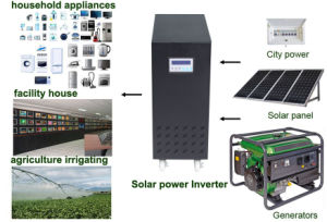 Very Advanced 7000va Hybrid Inverter with off Grid Function