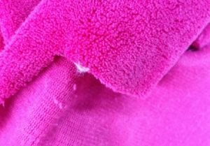 Solid Color One Side Coral Fleece