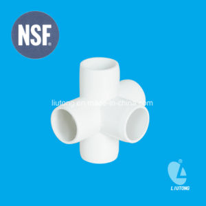 PVC 3/4/5 Way Elbow Connector Fitting pictures & photos