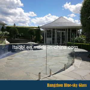 Pool Fencing Glass Frameless Toughened Glass by China Supplier