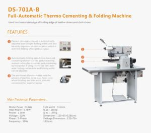 Thermo Cementing & Folding Machine pictures & photos
