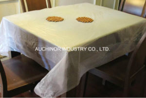 Custom Plastic Printed Waterproof Disposable Tablecloth pictures & photos