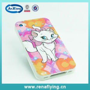 2015 New 3D Cartoon TPU Mobile Phone Case for iPhone 4 pictures & photos