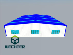 Ce ISO SGS Standard Steel Structure Showing Room and Warehouse pictures & photos