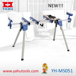 Yahu Brand Rolling Universal Miter Saw Stand pictures & photos