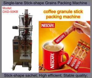 Single Lane Sugar Stick Packing Machine (salt; coffee; spice; bean) pictures & photos