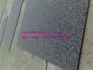1m Rubber Tile Gym Flooring Mat Sports Rubber Gym Flooring Mat Playground Rubber Flooring pictures & photos