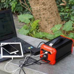Solar Power System Battery Solar Power with Charger pictures & photos