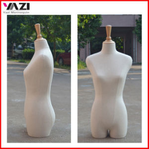 Fabric Covered Headless Female Torso Mannequin for Window Display pictures & photos