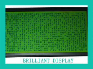 Stn Reflective Graphic 320X160dots LCD Display Module with Yellow-Green Backlight (VTM320160)