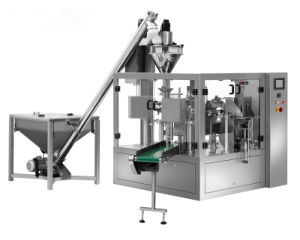 Automatic Counting Rotary Powder Packing Machine