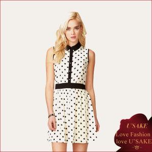 Women Chiffon Casual Fashion Dress (S30248)