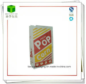 PE Coated Paper Bag Packaging Fast Food pictures & photos