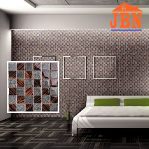 Popular New Design Living Room Wall Crystal Glass Mosaic Tile (G848005) pictures & photos