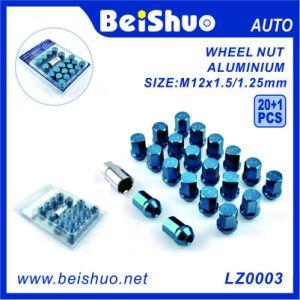 20+1 PCS Hex Aluminium Galvanized Wheel Nut Set pictures & photos