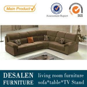 Brown European Fabric Sofa (227) pictures & photos