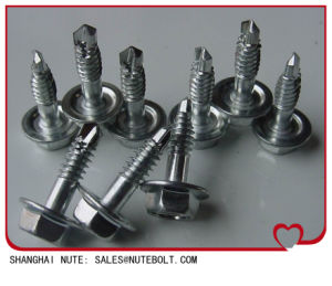 Hexagon Head Self-Driling Screw with EPDM Washer DIN7504 pictures & photos