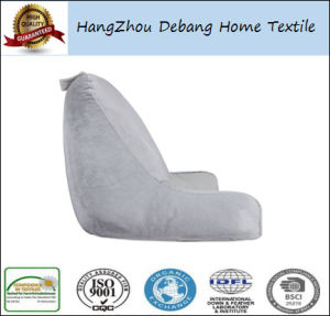 Bedrest Reading Arm Pillow Beige Back Support Bed Rest pictures & photos