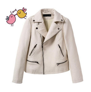 Women Leather PU Fashion Casusal Hot Seal Jacket pictures & photos