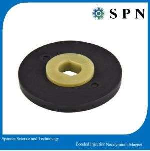 Plastic Injection Bonded NdFeB Magnet Ring for Motor pictures & photos