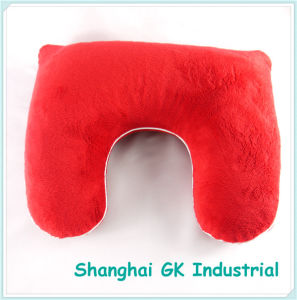Buckwheat Hull Filling Neck Pillow Travel Pillow pictures & photos
