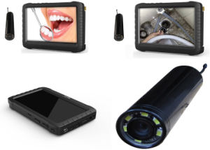 2.4GHz Wireless Pipe Inspection Camera DVR Monitor (5 inch LCD screen monitor, motion detect, 3200mAh battery) pictures & photos