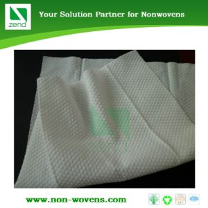 Embossed Pattern Spunlace Nonwoven Fabric pictures & photos