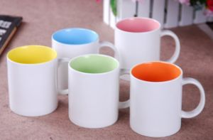 Promotional Ceramics Mugs with Inner Colors